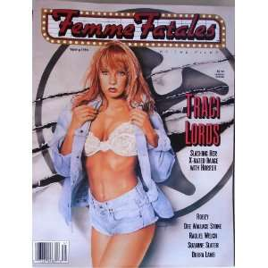 : Femme Fatales Magazine Vol. #1 #3 Spring 1993 , Tracie Lords , Roby