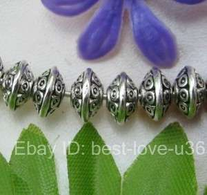 FREE SHIP 100pcs Tibetan silver Conch shape charms spacer beads BE784