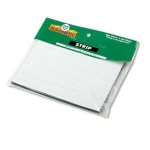 Magnetic Write On/Wipe Off Pre Cut Strips 7/8h x 6w
