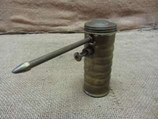 Pump Oil Can  Antique Metal Iron Oiler Tractor Auto Truck 6923