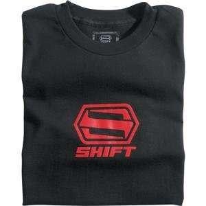 Shift Racing Youth Core T Shirt   Large/Black Automotive