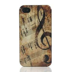 Music Note Design Hard Case / Cover / Skin / Shell for Apple iPhone