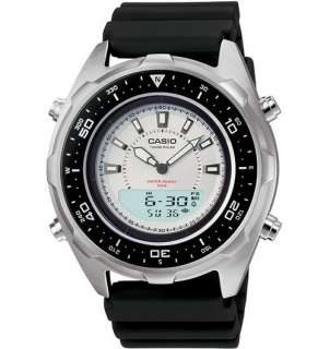 New Casio Mens Tough Solar Dual Time Watch AMWS320 7AV