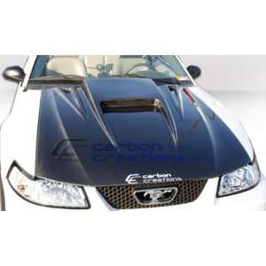 1999 2004 Ford Mustang Carbon Creations Spyder 3 Hood