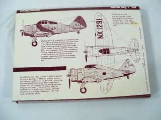 Rareplane Vacforms Seversky P 35 1/72 Scale Model Airplane Kit