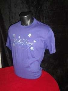 Whitney Houston 1987 Vtg Concert Tour T Shirt Unworn XL