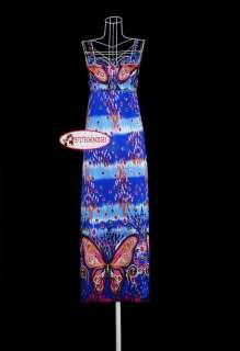 Women Long Maxi Dress Casual Bohemia Exotic S M SL075