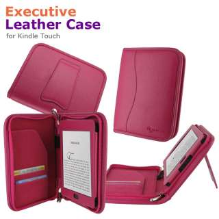 Executive Leather Case Cover for  Kindle Touch Latest Model