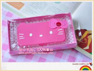 HelloKitty Face Soft Rubber Call Phone Case Cover For IPhone 4 4S