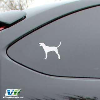 Redbone Coonhound Dog Vinyl Decal Sticker Car Window Wall