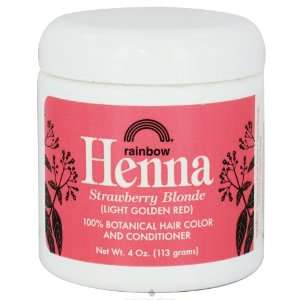 Henna Persian Strawberry Blonde (Light Golden Red) Hair Color 4 oz