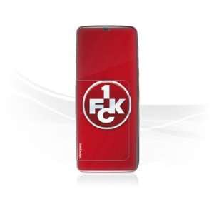 Design Skins for Nokia E60   1. FCK Logo Design Folie