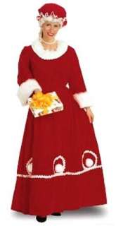 Costumes Country Style Mrs Claus Christmas Costume Set