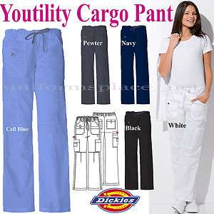 Dickies PANTS MEDICAL SCRUB YOUTILITY CARGO PANTS Junoir Fit Uniform