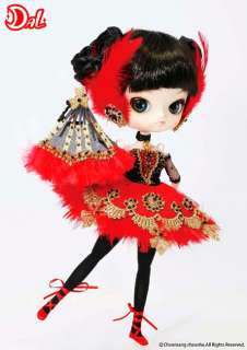 Galla Dal Doll Red Swan Ballerina Gothic Feathers Pullip