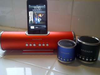 KAIDAER   Rechargeable Portable   High Quality Speaker System   iPod