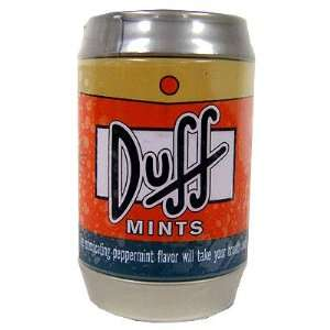 The Simpsons Mini Duff Beer Can Mints  Toys & Games