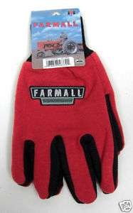Farmall Case IH International Harvester Jersey Gloves
