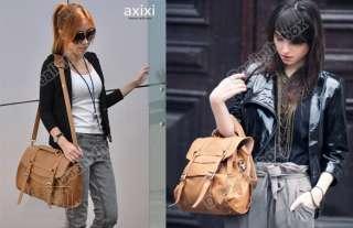 New Style Womens High Quality PU Leather Messenger Bag Retro Handbag