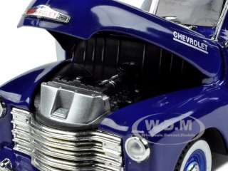 1951 CHEVROLET 3100 PICKUP TRUCK BLUE 132 MODEL CAR by SIGNATURE