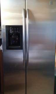 GE Profile 25 Cu. Ft. Side by Side Refrigerator Stainless Steel ENERGY
