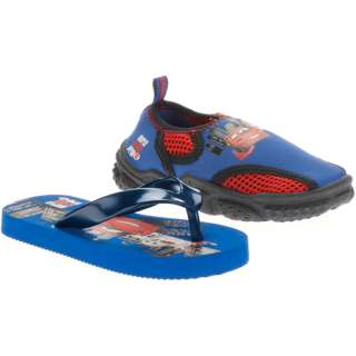 Disney   Toddler Boys Cars 2 Flip Flops and Water Shoes: Shoes
