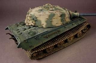 35 BUILT E 75 Tiger II Trumpeter 88mm L/100 tamiya dml 1945 1946
