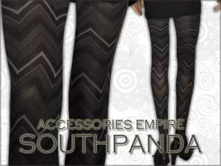 SL212 Black Stripe High Quality Gothic Tights Pantyhose