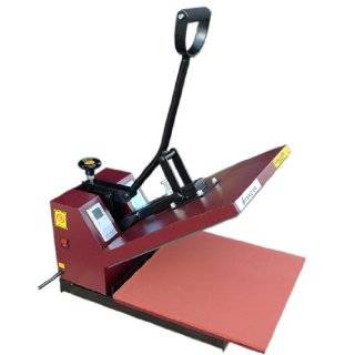 Heat Press Transfer Screen Printing Machine 15 x 15 RED NEW