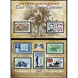 Civil War 150th Anniversary Commermorative Stamp Collection