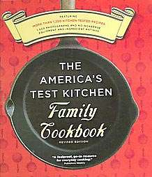 The Americas Test Kitchen Family Cookbook Revised Edition (Hardcover