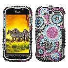 HD2 Colorful Rhinestones Crystal Glitter Bling Phone Case Cover