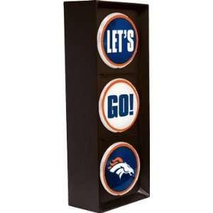 Denver Broncos Lets Go Light   NFL