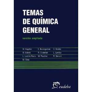 Temas de Quimica General (Spanish Edition) (9789502305493