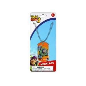 Disney Pixar Toy Story Buzz Lightyear Metal Dog Tag Charm