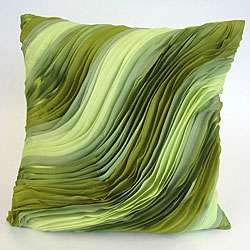 Designer Collection Apple Green Breeze Pillow