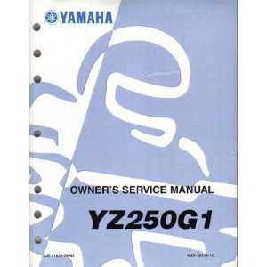 1995 Yamaha YZ250 Factory Service Manual Yamaha Motors Books