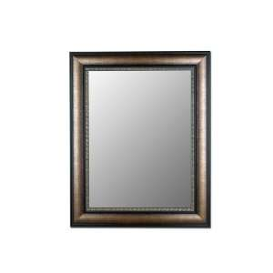 Framed Ready to Hang Wall Mirror With 1 1/4 Bevel.