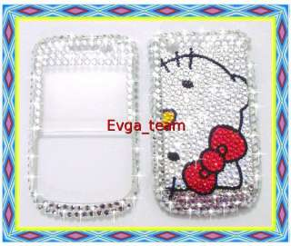 Hello kitty Bling Case Cover For blackberry 8520 8530 D