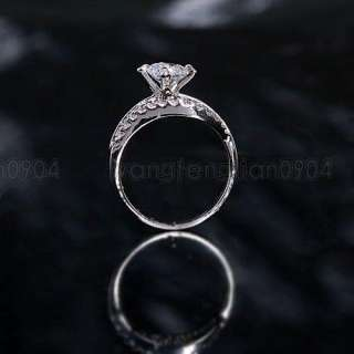 18K White Gold Plated Women Ring  ML0293