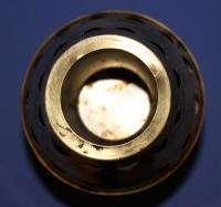 Vintage European Brass Candlestick Candle Holder Desk Lamp Shape