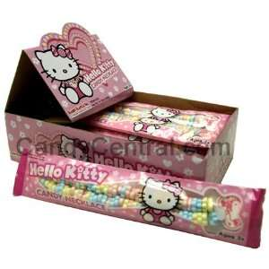 Hello Kitty Candy Necklace (12 Ct) Grocery & Gourmet Food