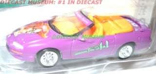 1998 98 CHEVY CAMARO Z28 PLUM CLUE DIECAST JOHNNY JL