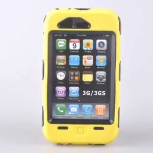 Heavy Duty Tough Cover Case *Yellow* For iphone 3G 3GS