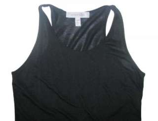 SPORTSMAX/MAX MARA BLACK JERSEY RACER BACK SLIP DRESS~S