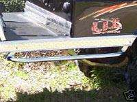 Polished STAINLESS STEEL Club Car NERF BARS Golf Cart