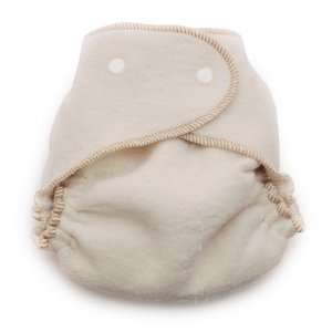 Organic Fitted Cloth Diapers   3 Pack Unbleached