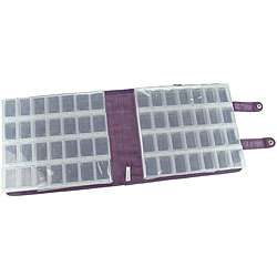 Craft Mates Ezy Snappin Purple Double Organizer  Overstock