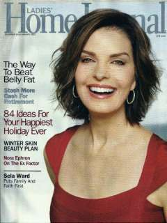LADIES HOME JOURNAL DEC 10/JAN 2011 SELA WARD