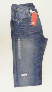100% Authentic Tommy Hilfiger Premium Mens Medium Wash Custom Straight